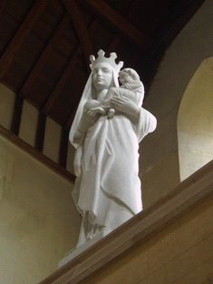 Our Lady and Jesus Child statue