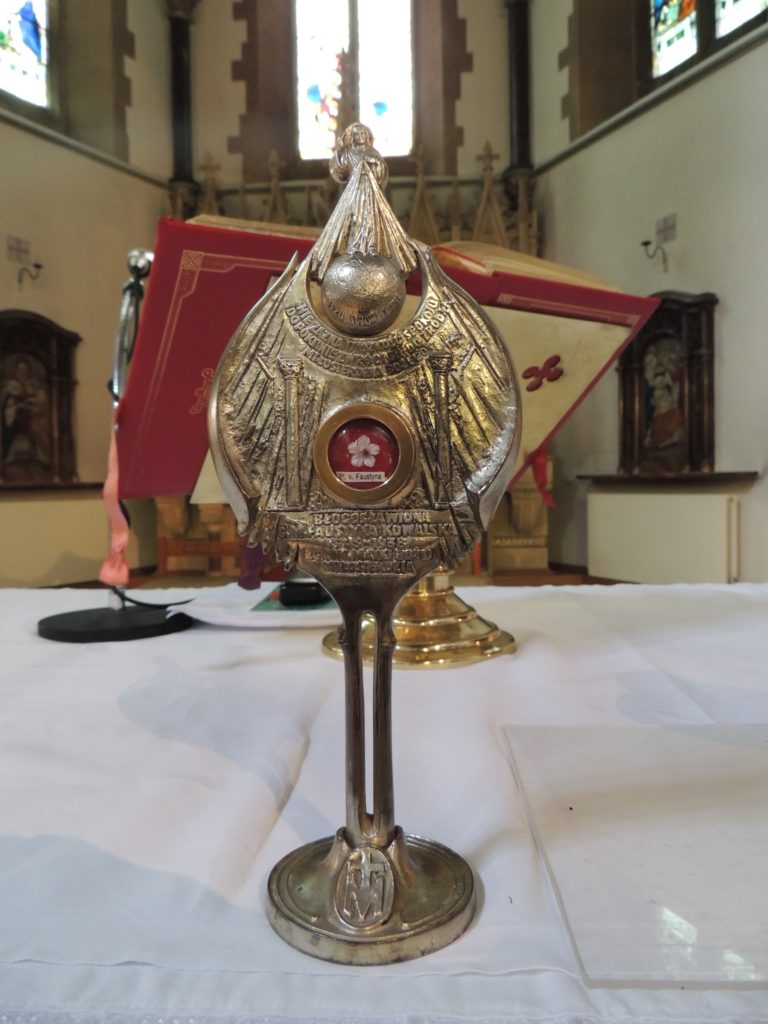 1st Class Relic of St Faustina