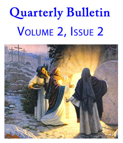 Quarterly Bulletin - Volume 2, Issue 2